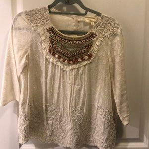 Anthropologie blouse !